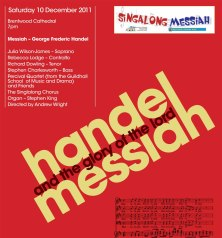 Messiah red poster 2011