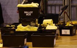 Euro ballot boxes
