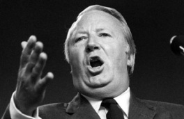 Edward Heath: called snap election in 1974