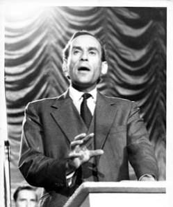 Thorpe: a charismatic platform orator